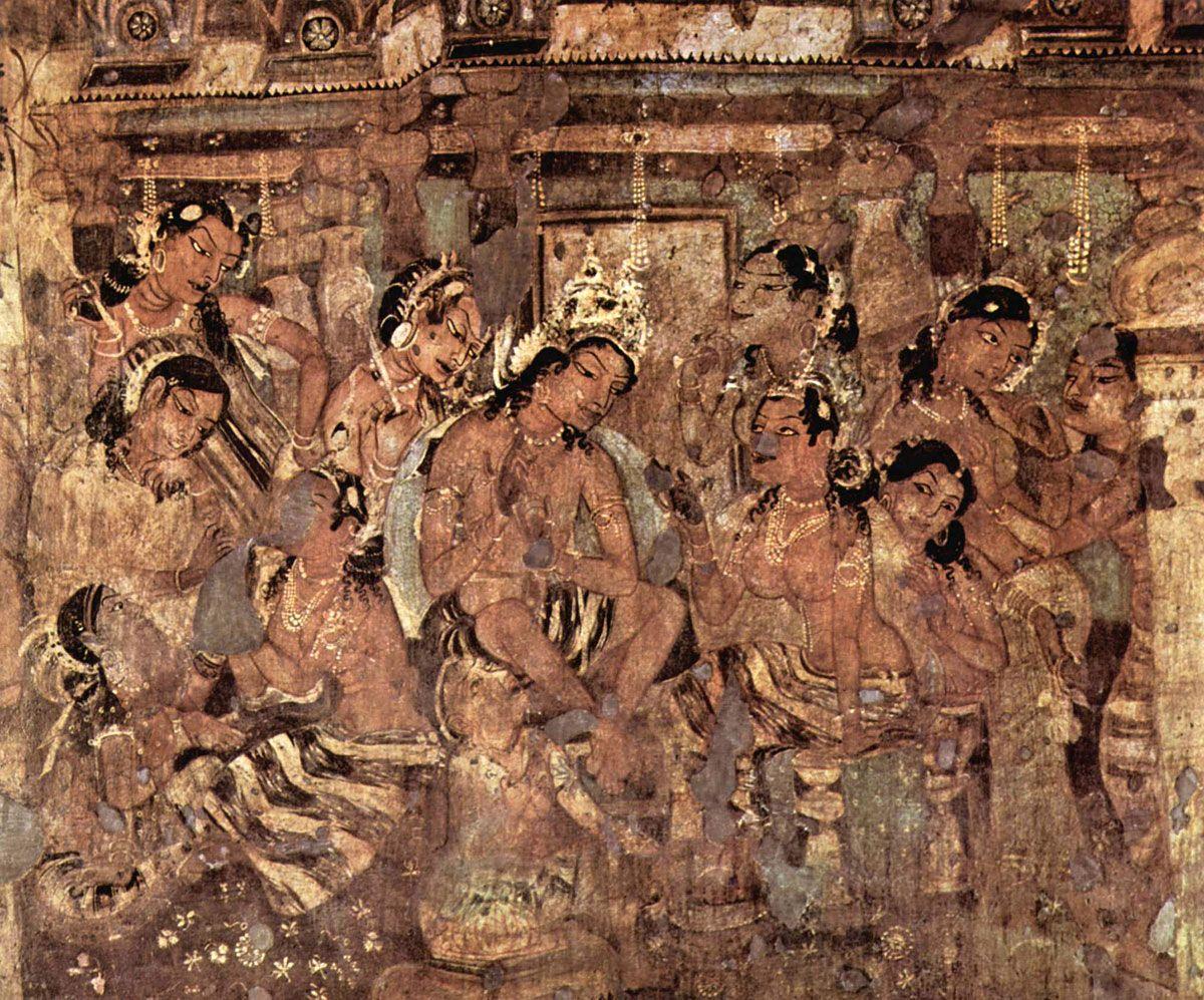 Pin By Myart On Ajanta In 2019 Ajanta Caves Buddhist Art