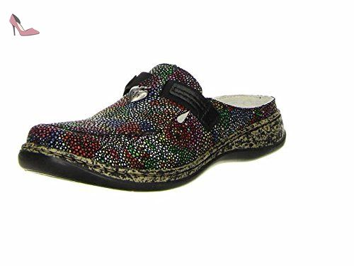 Rieker 46305 Mules femme, schuhgröße_1:eur 38;Farbe:noir - Chaussures rieker (*Partner-Link)