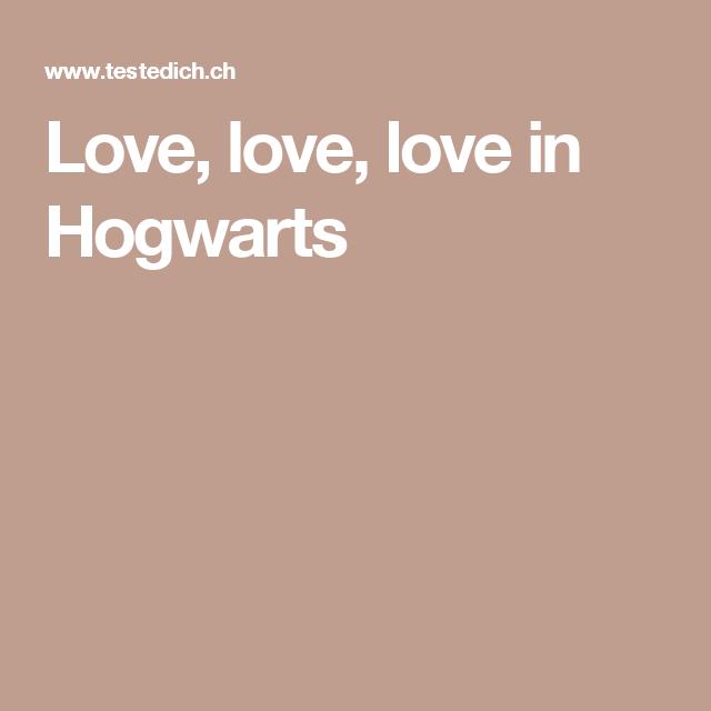 Love Love Love In Hogwarts Hogwarts Testedich