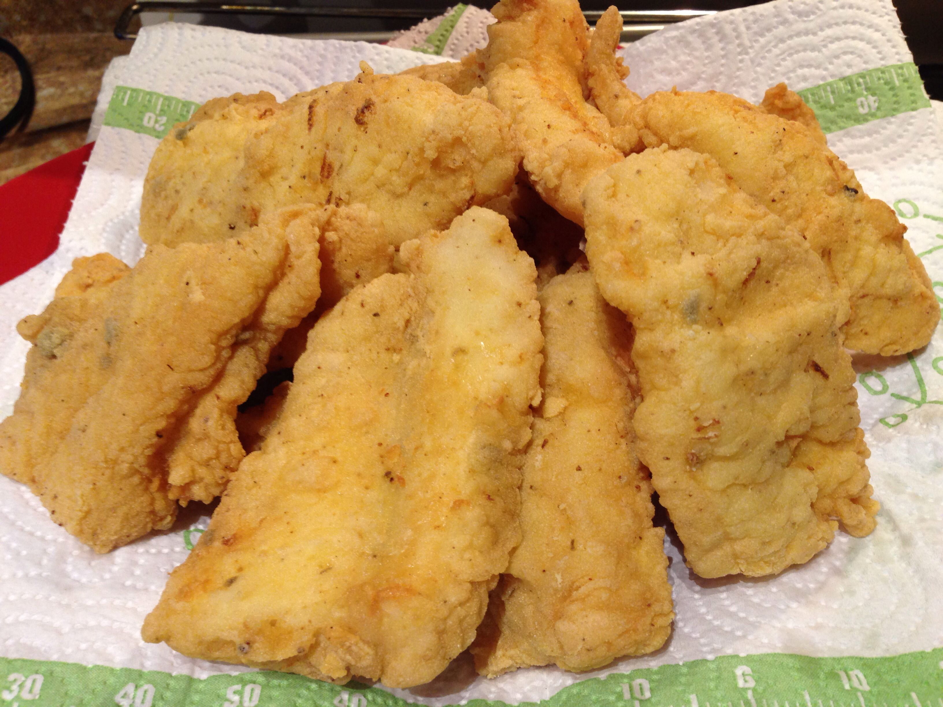 Fried fish using the nuwave precision induction cooktop for Best oil for frying fish