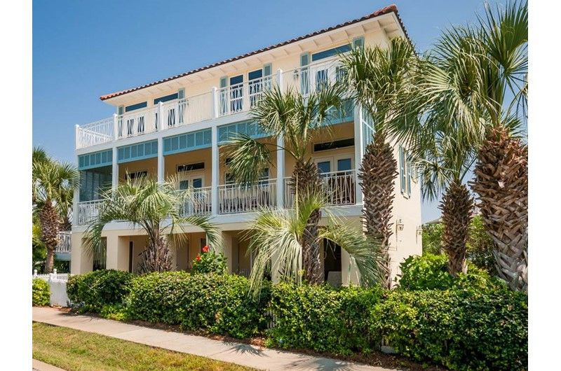 costa rica at destin pointe house cottage rental in destin beach rh pinterest at