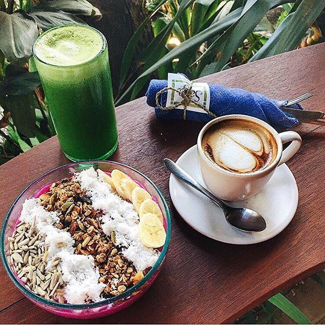 Breakfast criminal of the week: @vero_in_bali at @sagebali Pitaya bowls rule #breakfastcriminals