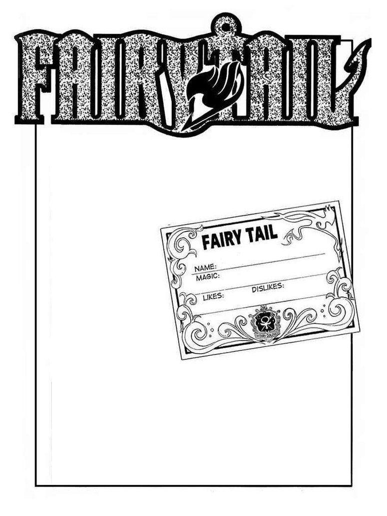 Fairy Tail Oc Template By Fairytailgirl13 On Deviantart Fairy Tail Oc Template Fairy