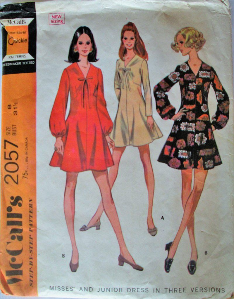 Mccalls 2057 womens 60s dart fitted flared mini dress sewing mccalls 2057 womens 60s dart fitted flared mini dress sewing pattern bust 315 great jeuxipadfo Images