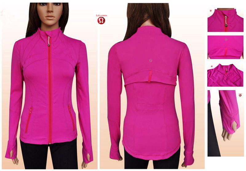Black Friday Lululemon Yoga Define Jackets Pink Sale Clearance ...