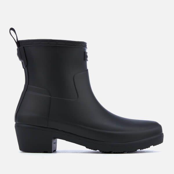 cb604be37873d Hunter Women's Refined Low Heel Ankle Boots - Black in 2019 ...