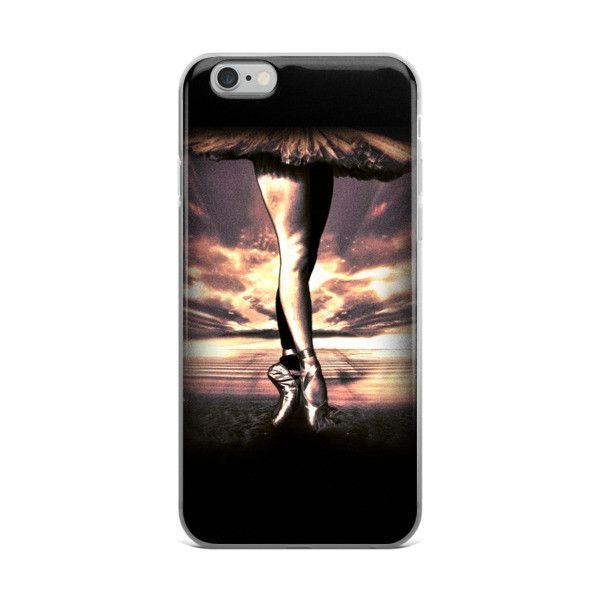 Ballet Tutu Legs iPhone case