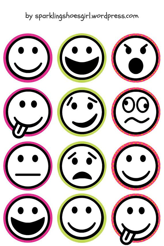 It's just a photo of Emoji Faces Printable with regard to free printable