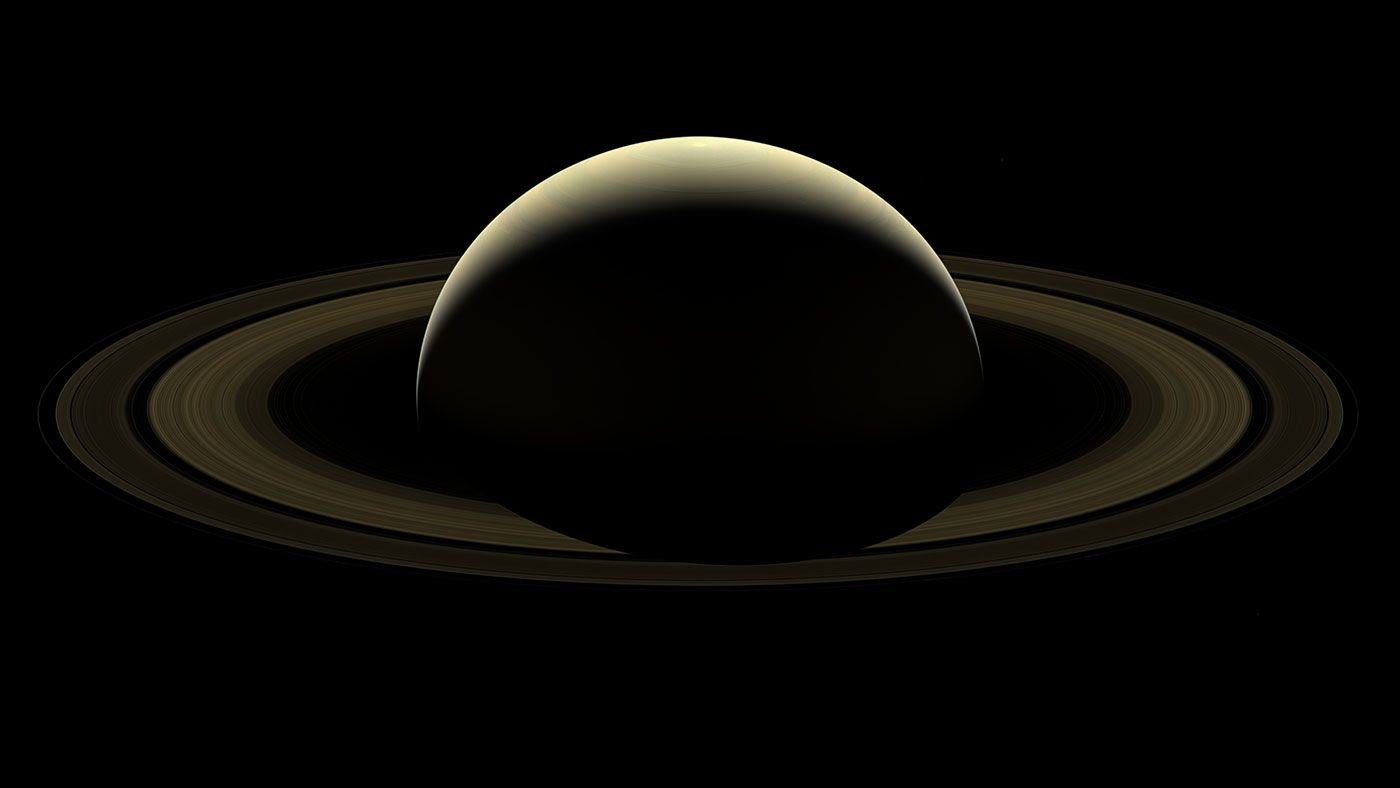 Cassini Image Mosaic A Farewell To Saturn Nasa Solar System Space Images Planets