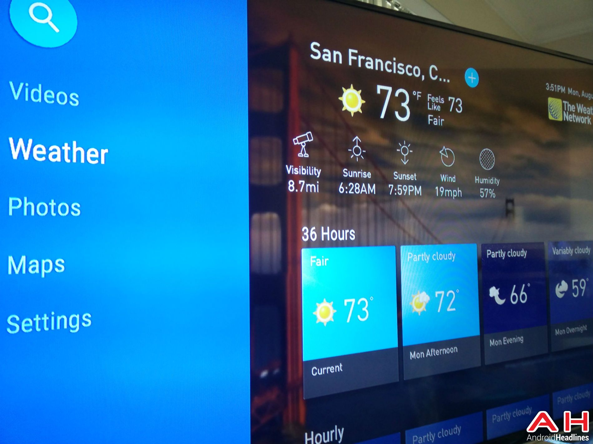Weather Network App Now Available For Android TV Weather