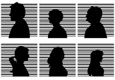 mugshot vector - Google Search (With images) | Vector art ...