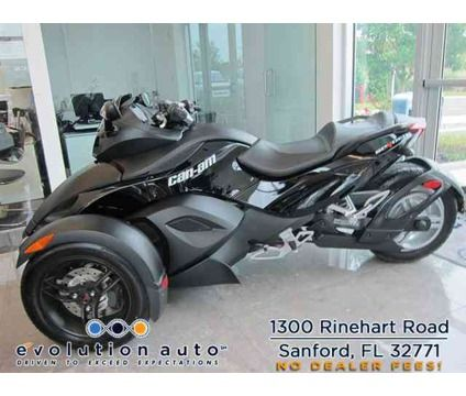 2009 Can Am Spyder Is A Black 2009 Can Am Spyder Motorcycle In