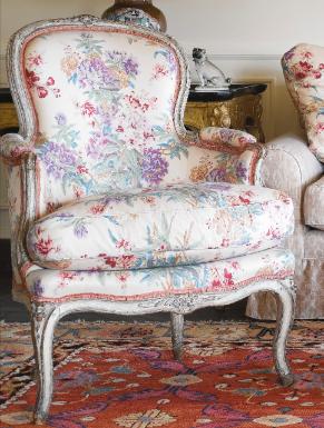 Lot Sotheby S Grey Paint Armchair Art Nouveau Furniture