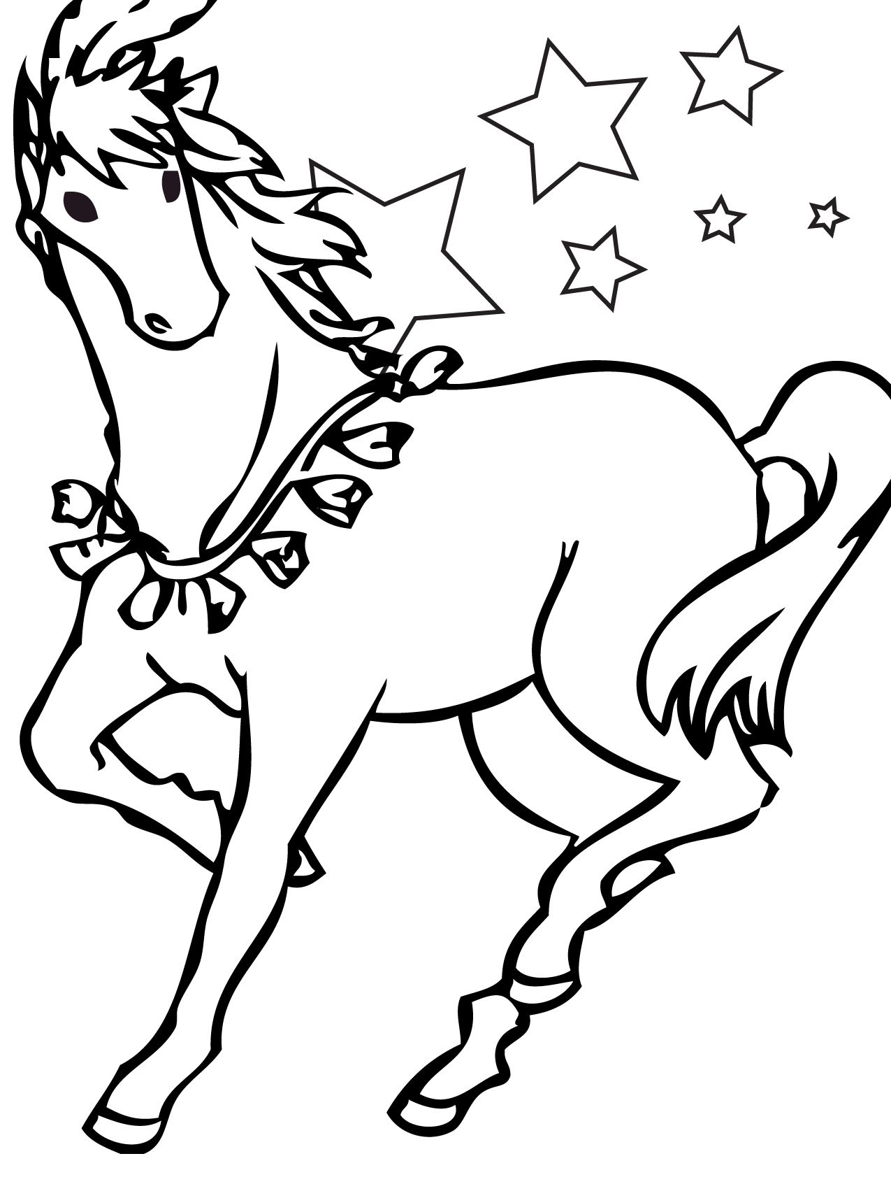 Planse De Colorat Cu Cai Horse Coloring Pages Horse Coloring Books Horse Coloring