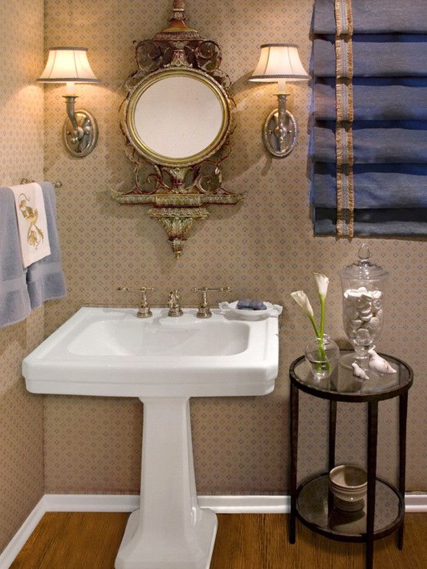 small sink vanity for small bathrooms%0A    Terrific Pedestal Sink Small Bathroom Picture Ideas