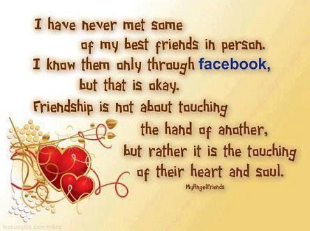 Facebook Friendship Quotes Cute Friendship Quote Facebook Friend