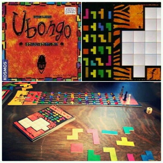 ubongo a funny name for a funny game each round of the game begins rh pinterest com