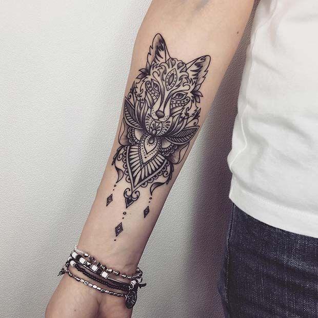 43 Badass Tattoo Ideas For Women Wolf Tattoos For Women Tattoos For Women Half Sleeve Sleeve Tattoos