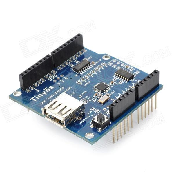Z1302 Usb Host Shield 2 0 Adk Shield Module Blue Model Z1302