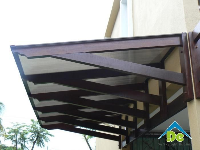 Malaysia Polycarbonate Awning Polycarbonate Awning Roof Top
