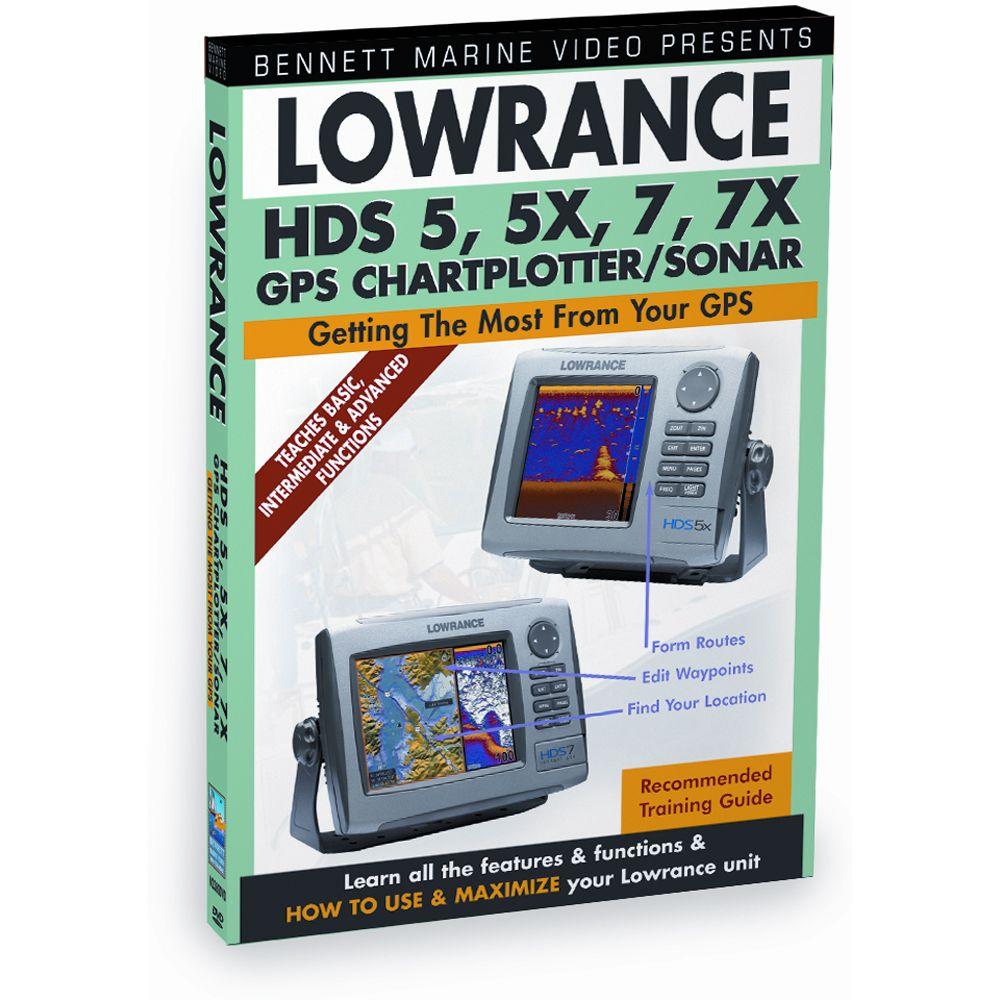 Training DVD f/Lowrance HDS 5/5X/7/7X Chartplotter