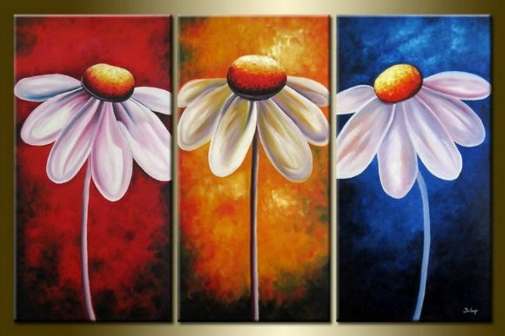 Marvelous Easy Acrylic Painting Ideas for House Indoor ... Easy Acrylic Flower Paintings On Canvas