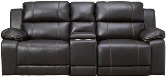 laramie iii brown reclining console loveseat in 2019 den ideas rh pinterest com