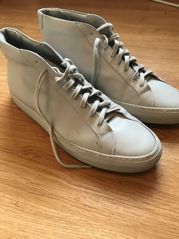 ba47a8a9883b6 Common Projects original Achiles Mid Carta 45 US 12  fashion  clothing   shoes  accessories  mensshoes  casualshoes (ebay link)