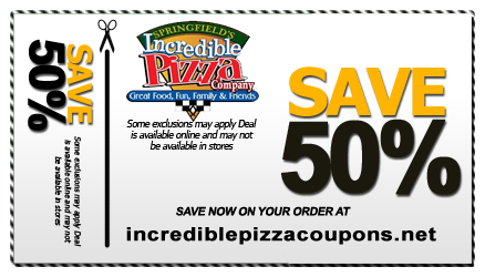 photo regarding John Incredible Pizza Coupons Printable identified as John Unbelievable Pizza Printable Discount codes Extraordinary Pizza
