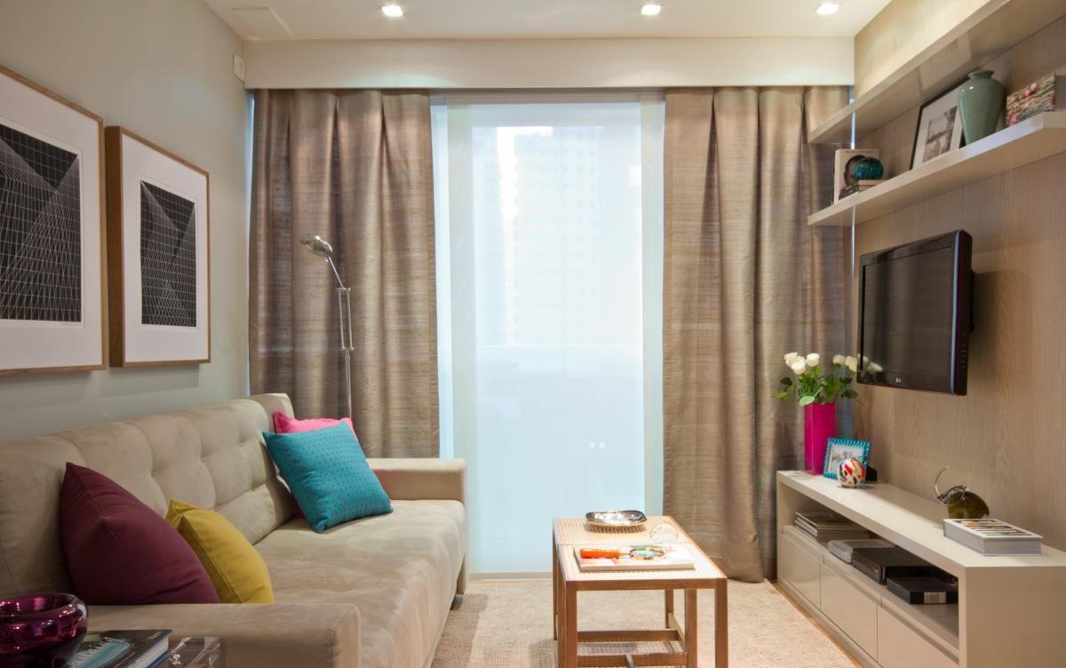 Decoração de sala pequena e moderna: Tendências 2019 ...