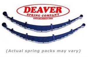 Deaver Jeepspeed Leaf Springs 84 01 Cherokee Xj 4 Rear