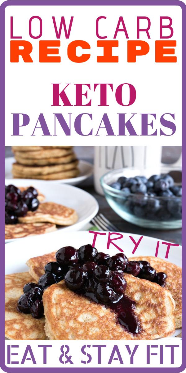 Keto pancake recetas espanol de en