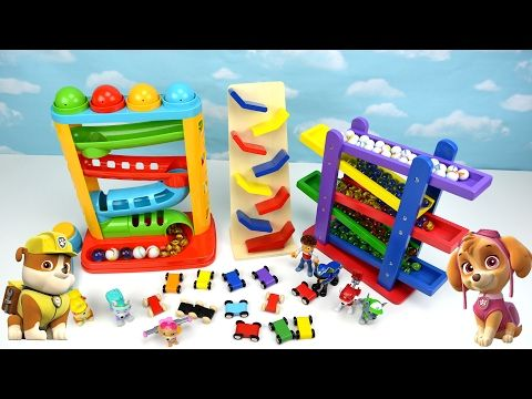Learn Video Paw Patrol Kids Toddler Learning Colors Children Toy