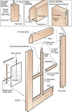 Diy Window Sash Set In 2020 Window Construction Wooden Window Frames Diy Window