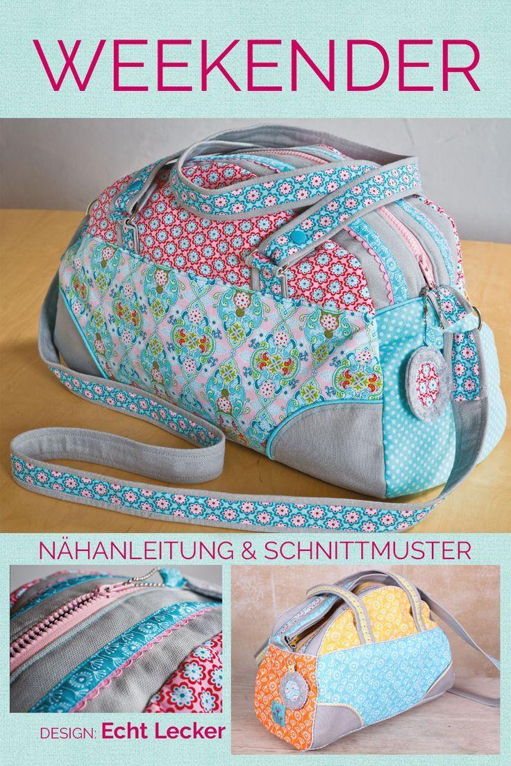 Weekender-Tasche, Kreativ-Ebook #pursesandbags