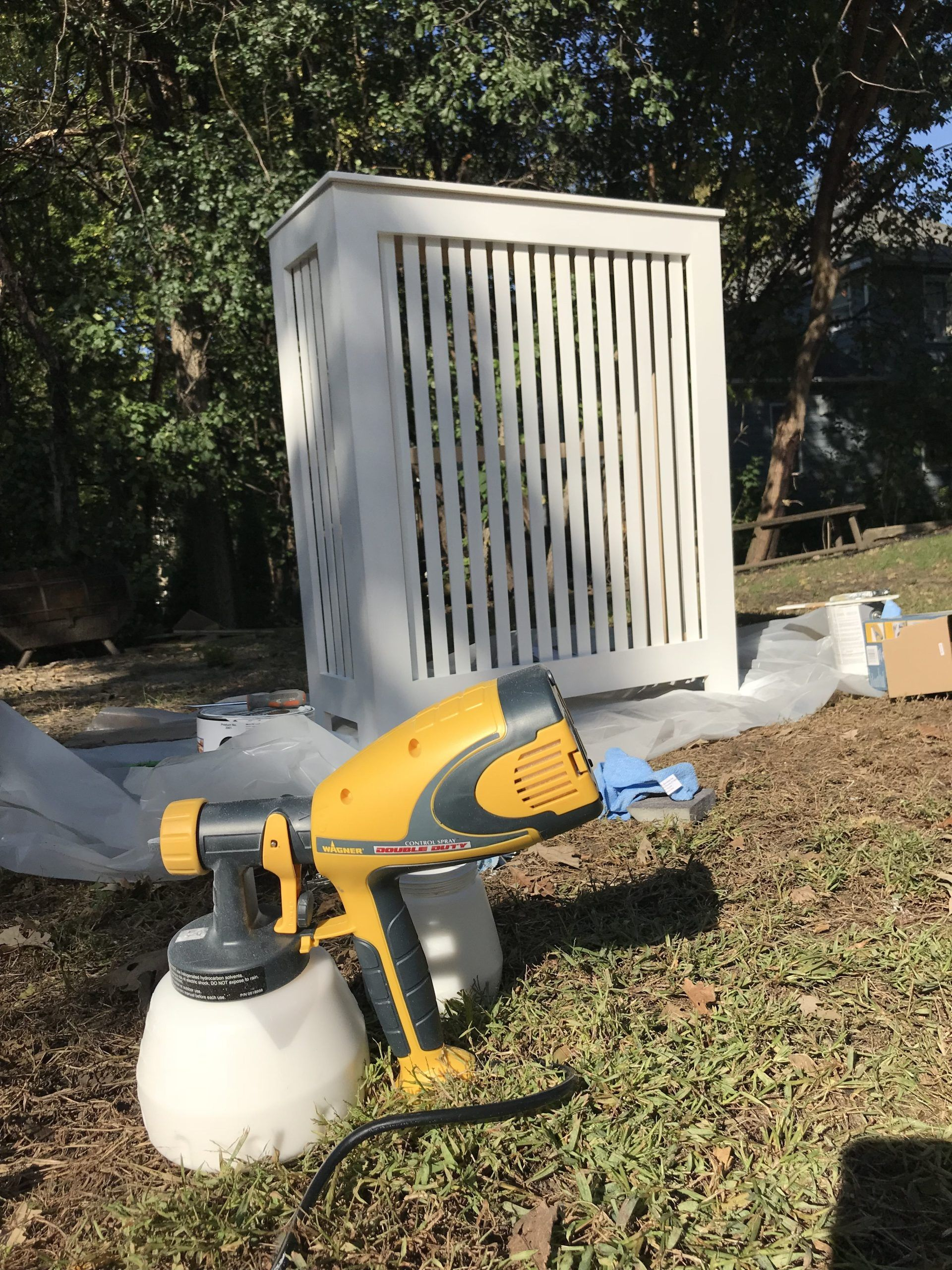 DIY Radiator Cover in 2020 Diy radiator cover