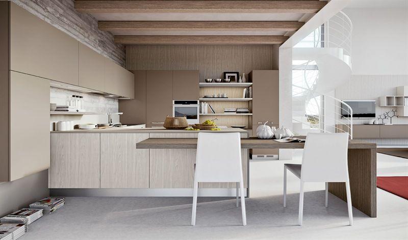 Interior Design Cucine Moderne.Cucina Moderna Luna Funzionalita E Stile Cucine Moderne