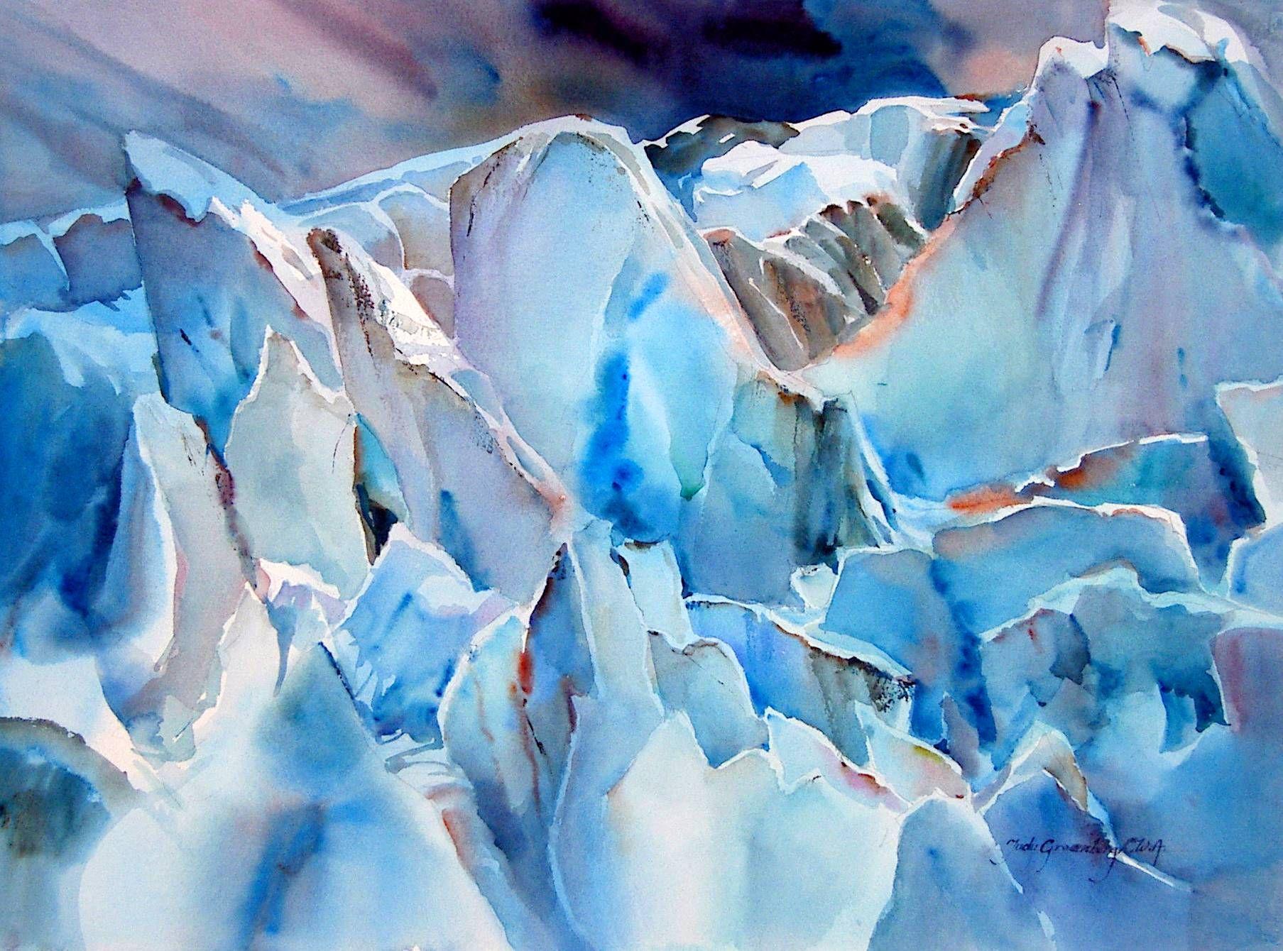 Additional Gallery Winter Watercolor Watercolor Art Beautiful Art