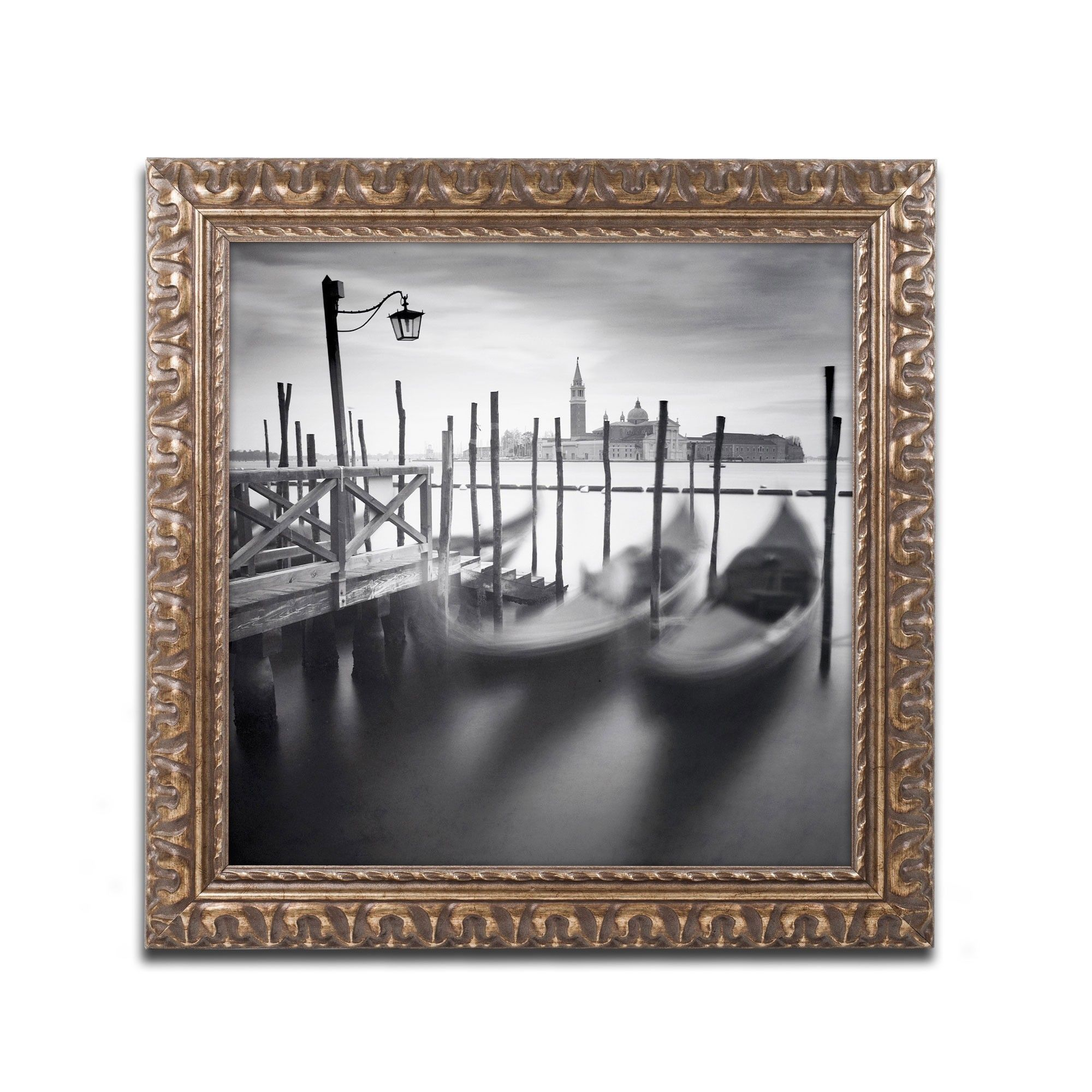 Venice Gondolas by Nina Papiorek Framed Photographic Print