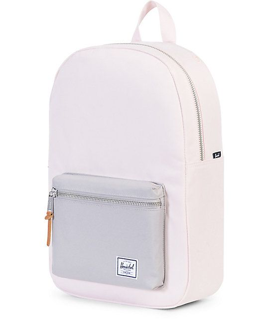 b70685f14dcd7 Herschel Supply Co. Settlement Mid Cloud Pink   Grey 17L Backpack in ...