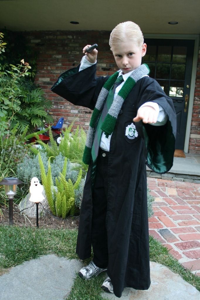 How To Draco Malfoy Harry Potter Costume My Tutorials