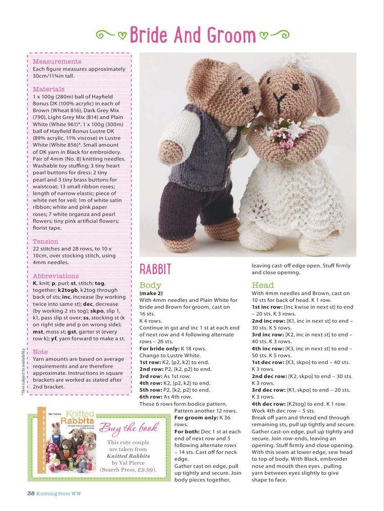 Knitting Toys Magazine : Knitting crochet may 轻描淡写 toys pinterest
