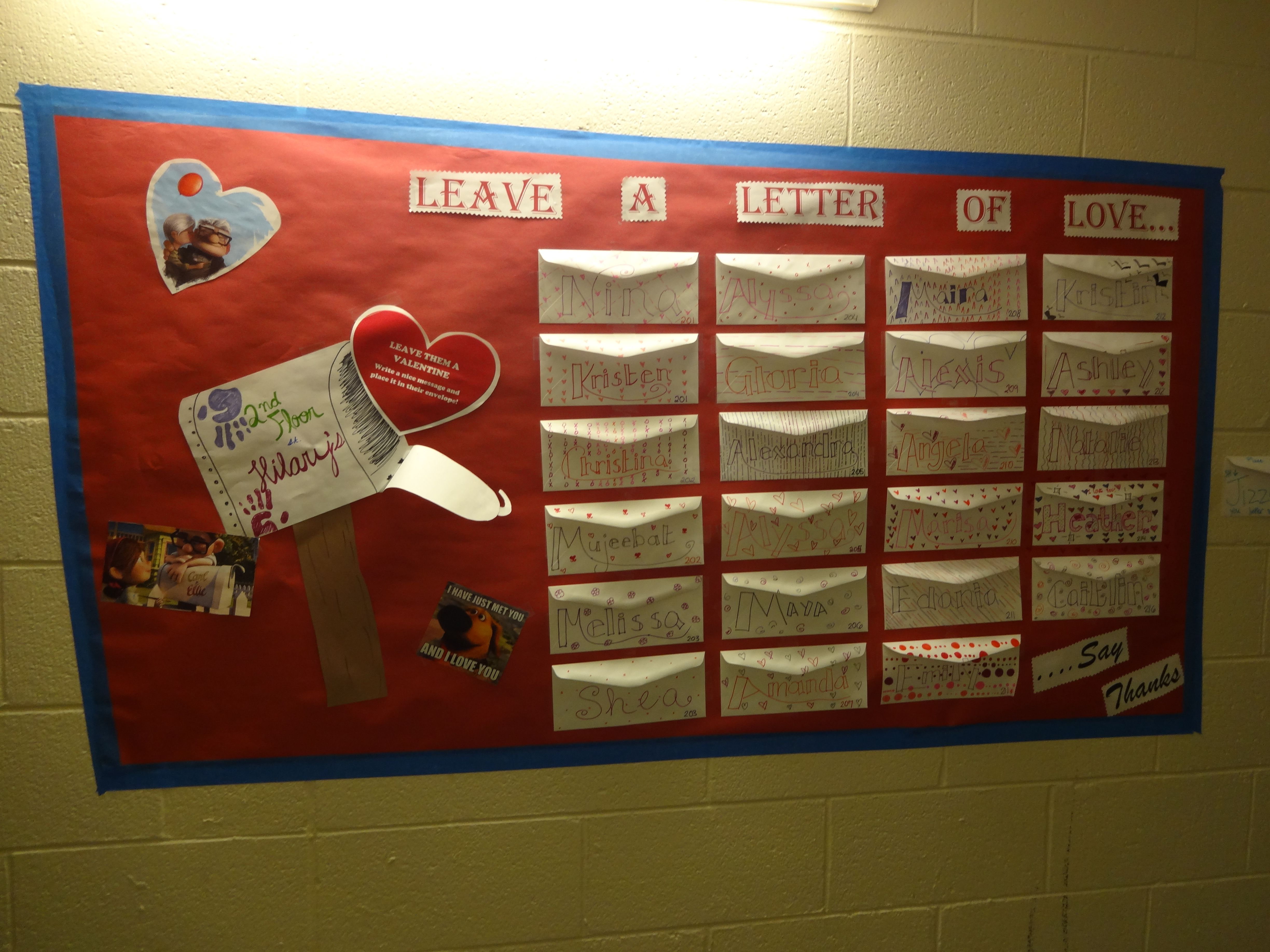 Up themed valentine s day bulletin board inspired by the super