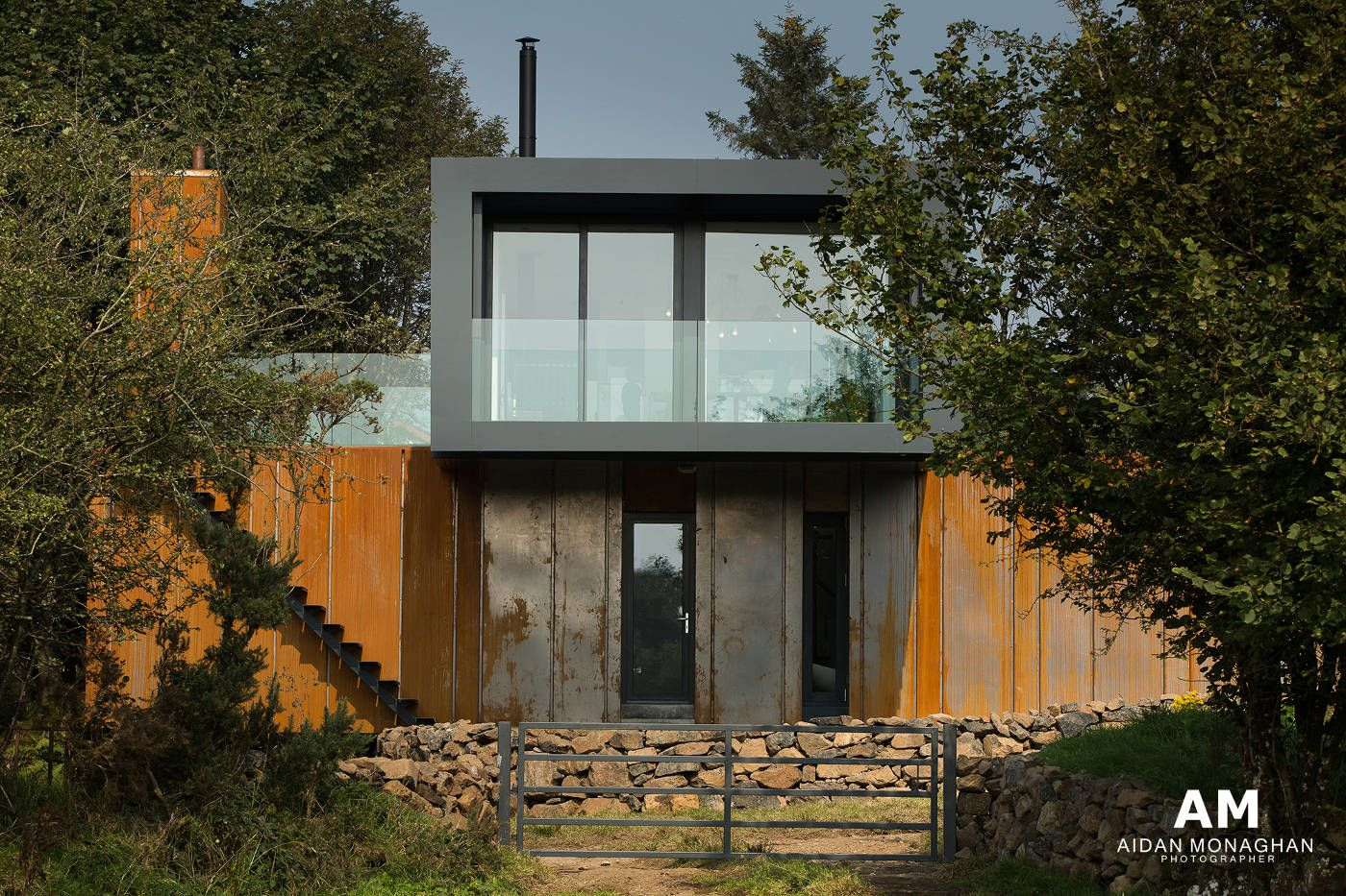Grand designs container home northern ireland patrick bradley architects photo by aidan - Designer shipping container homes ...