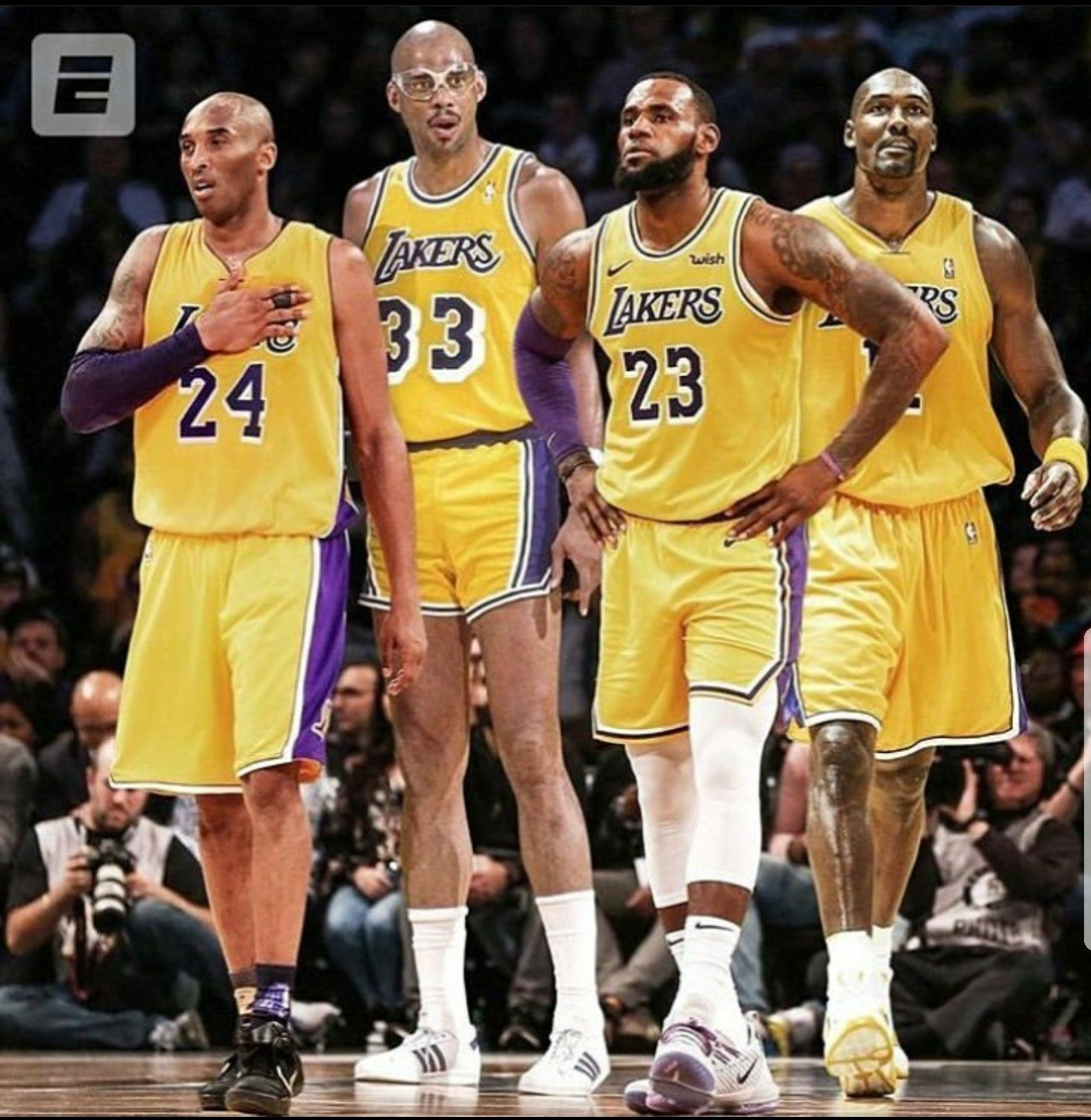 SHOWTIME LAKERS !!!! image by Eric Griffin in 2020