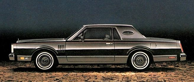 1982 lincoln continental - Google Search | Cars of the 1980s I like