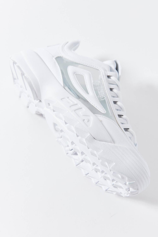 fila disruptor 2 clear sneaker