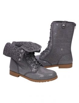 FOLDOVER SEQUIN COMBAT BOOTS | GIRLS BOOTS SHOES | SHOP JUSTICE ...