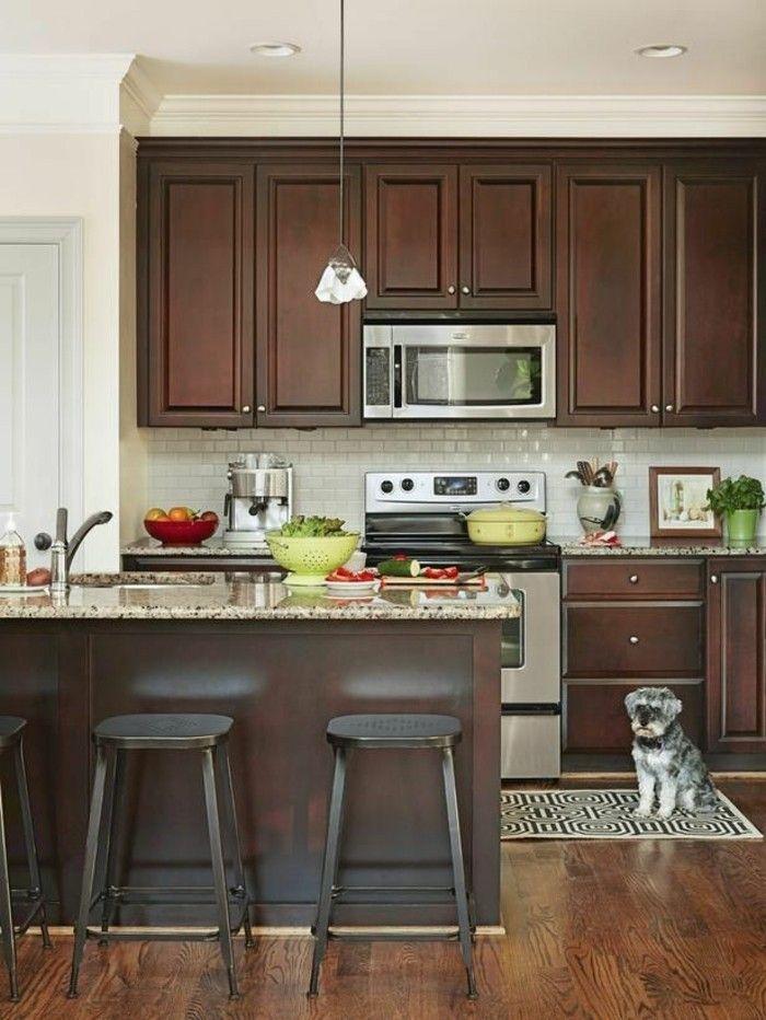 Comment repeindre une cuisine, idées en photos! Kitchen design - Repeindre Un Meuble En Chene