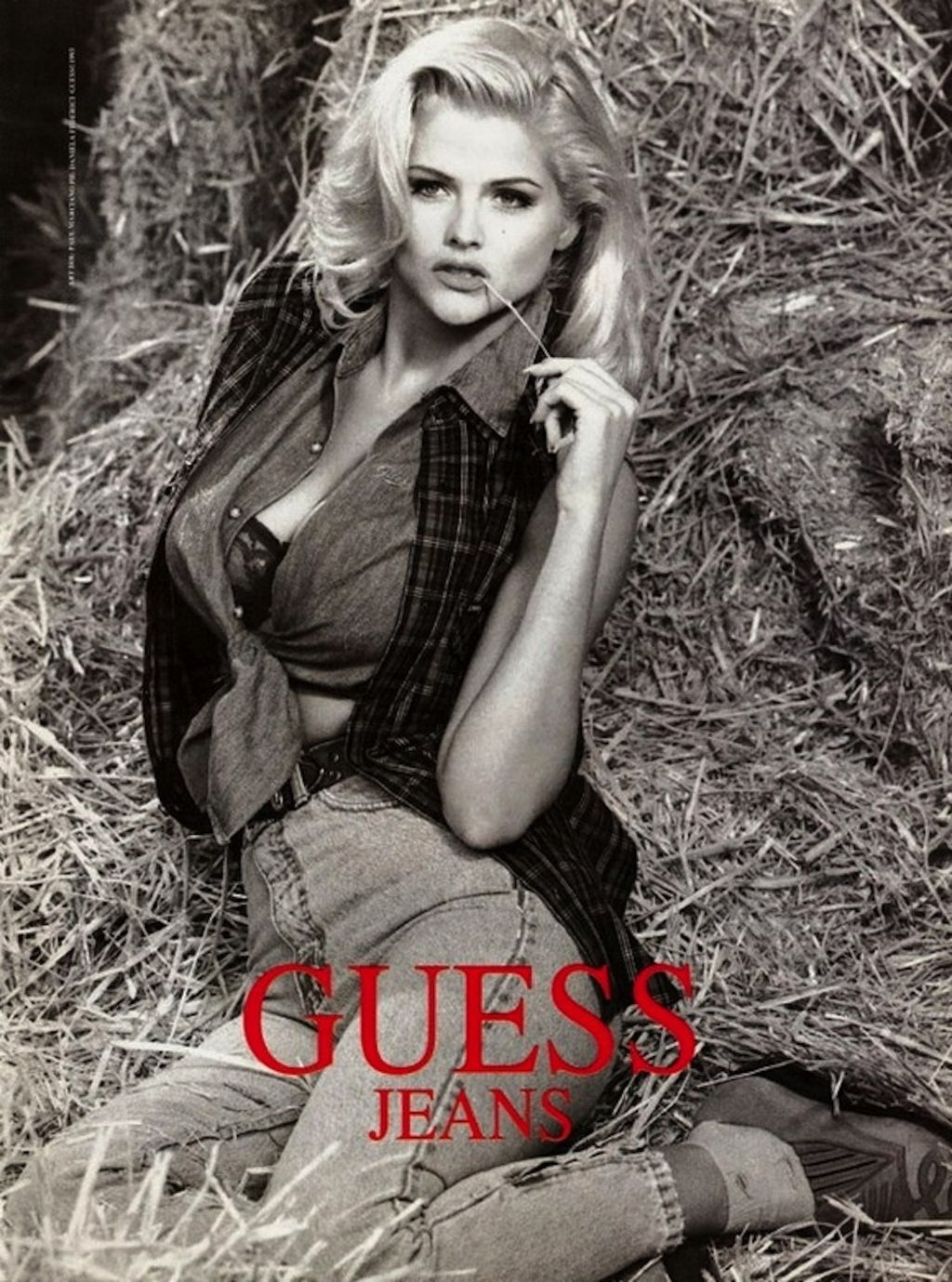 20 Gorgeous Photos From Anna Nicole Smith's Guess Campaign ...